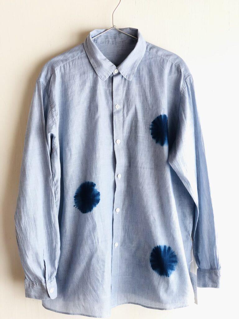 #R407 ピンストライプシャツ